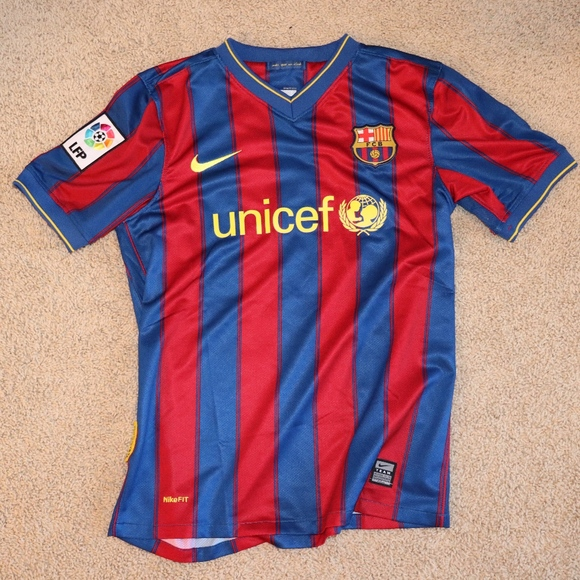 Nike Shirts Tops Official Fcbarcelona Unicef Jersey Poshmark